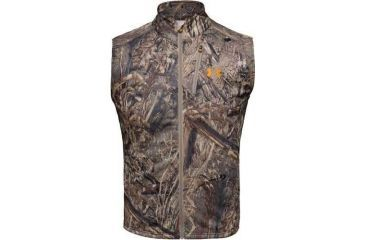 Under Armour Men's ColdGear Camo Hurlock Fleece Vest - Duckblind Color 1004043-399