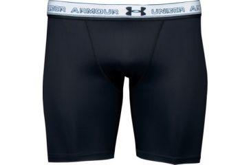 5cad788e UnderArmour Men's HeatGear Compression Short - Black Color 1201164 ...