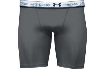 UnderArmour Men's HeatGear Compression Short - Gray Color 1201164-020