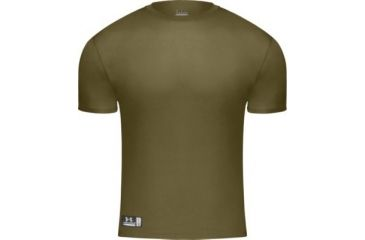 UnderArmour Men's HeatGear Tactical Full T - USMC Approved - Marine Olive Drab Color 1005383-390