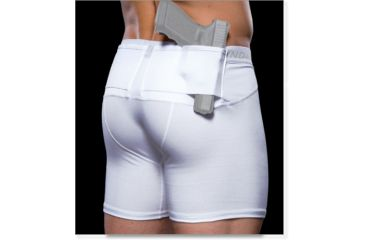 Undertech Undercover Men's Concealment Shorts - White