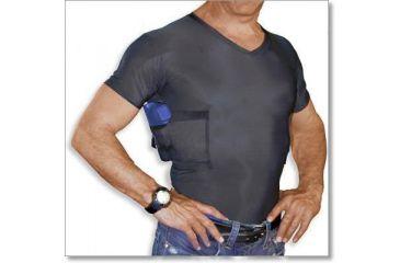 Undertech Undercover V-Neck Concealment Shirt - Black