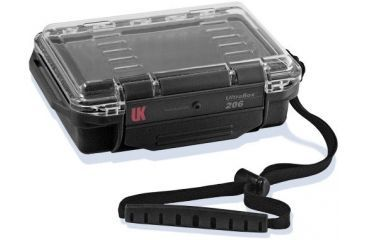 UK 206 Ultra Box, Black with Clear View