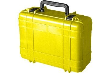 Underwater Kinetics 718 Dry Case, Shipping, Panel Ring, Yellow 02513