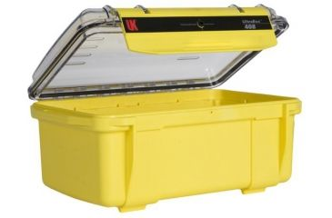 Underwater Kinetics 408 Case, Empty, Yellow