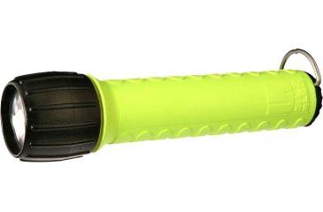 Underwater Kinetics SL3 eLED 98 Lumens Flashlight, Safety Yellow, No Batteries - Clam Pack