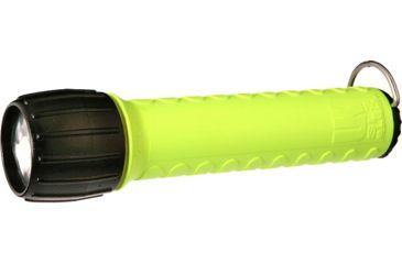 Underwater Kinetics SL3 eLED 98 Lumens Flashlight, Safety Yellow, Batteries - Box Pack 22206
