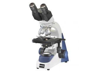 Unico G380PHP Microscope Binocular WF10X, 4X, 10X, 100XR Ach & 40XR Semi-Plan Phase with Battery Pk. LED Illumination & Carry Case G380PHP