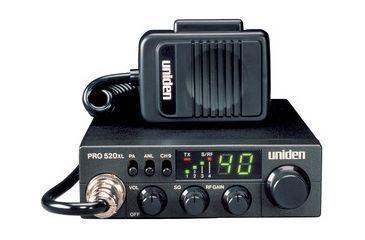 Uniden Compact Professional 40 Channel CB Radio PRO520XL