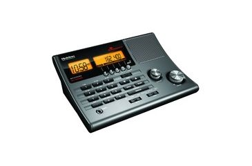 Uniden CRS Clock Radio Base Scanner w/ 300 Channels, 10 Banks BC370CRS