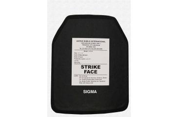 United Shield Sigma Lite Ceramic Plate Level III Stand Alone 10inX12in SIGMA-LITE-SA-III-10X12