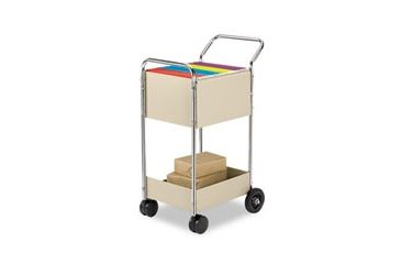 United Stationers Cart Mail 39hx38dx16w Gy FEL40922, Unit EA