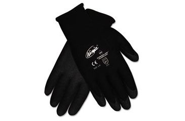 United Stationers Gloves Seamlss Dip Med Bk CRWN9699M, Unit PR