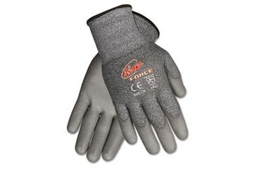 United Stationers Gloves Seamlss Dip Xlg Gy CRWN9677XL, Unit PR