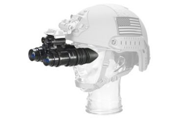 US Night Vision AN/PVS-15 Nightvision Binocular, Gen 3 Chrome,White Phosphor Auto-Gated Unfilmed, Black 001237
