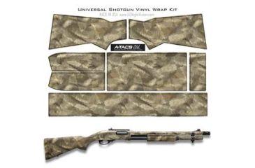 US Night Vision A-TACS Camo Pre-Cut Universal Shotgun Skin Vinyl Wrap, 20x30in, A-TACS Camo AU 116520