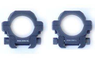 US Optics 30mm Rings P6M-3000 L and XL