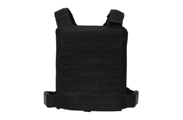 US Palm ASP-C MOLLE Plate Carrier With 2 Level IV Stand Alone Plates Black