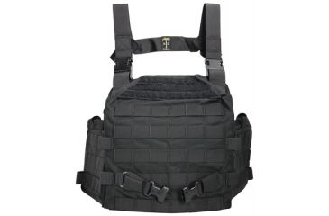 US Palm Desert Tracker Plate Carrier - Carrier Only Coyote Black