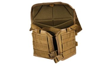US Palm Desert Tracker Plate Carrier - Carrier Only Coyote Tan