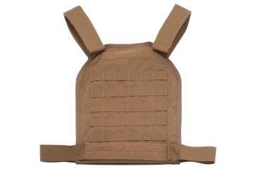 US Palm MOLLE Defender Soft Armor Plate Carrier With One Level IIIA Soft Armor Panel X-Large 11x13.5 Inch Panel Coyote Tan