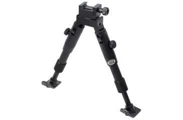 Leapers UTG Extra Low Profile Fixed Length Shooter Bipod w/Foldable Legs TL-BP28XST