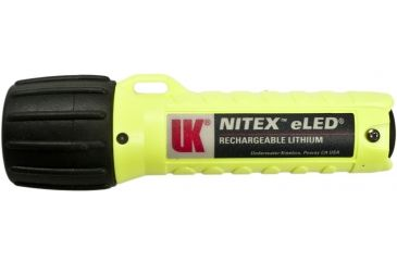 UW Kinetics Nitex w/Charger, Helmet Clip, AC Power Supply, Safety Yellow, US