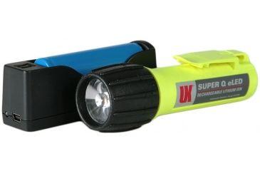 Underwater Kinetics Super Q eLED Rechargeable Flashlight