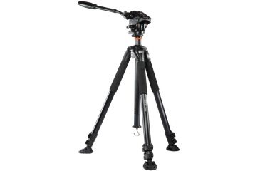 Vanguard Abeo Plus 363AV Aluminum Tripod with PH-124V, Black ABEO PLUS 363AV