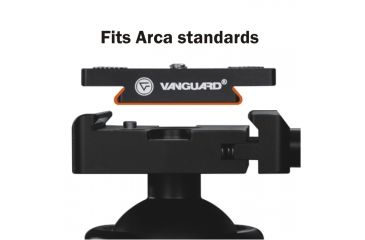 Vanguard ABH-340L Semi-Elliptical Ball Head
