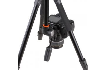 9-Vanguard Espod Plus 203AP Aluminum Alloy Tripod with Panhead