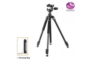 2-Vanguard Espod Plus 203AP Aluminum Alloy Tripod with Panhead
