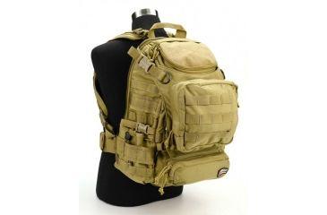 J-Tech Gear Heracles Backpack, Coyote Tan PA01-2800-00 CM
