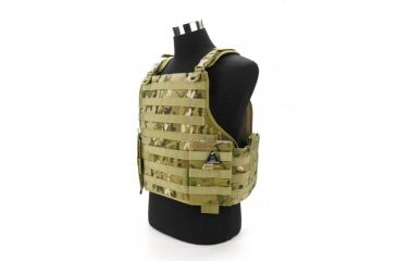 HSS International Multicam Plate Carrier Tactical Vest, Multi-Cam HSS-VEST-MULTICAM