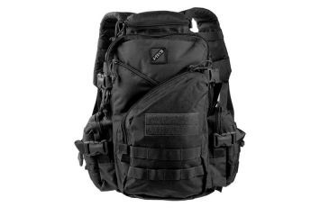 J-Tech Gear Operation Irene Assault Backpack, Black PA01-2200-00 BK