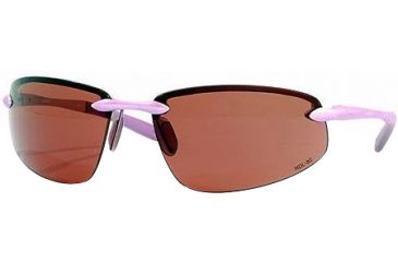 Vedalohd Como Sunglasses Purple Aluminum Frame Copper Rose Lenses 8005
