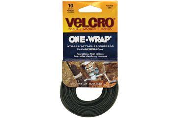 Velcro One-wrap 8'' X 1/2'' Foliag 10pk 91750