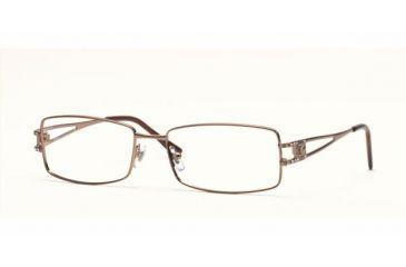 bf76c60b23 Versace VE1092B Progressive Eyeglasses Light Brown Frame   53 mm  Prescription Lenses