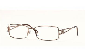 4dc3d23ff244 Versace VE1092B SV Prescription Eyeglasses Light Brown Frame / 53 mm  Prescription Lenses, 1045-
