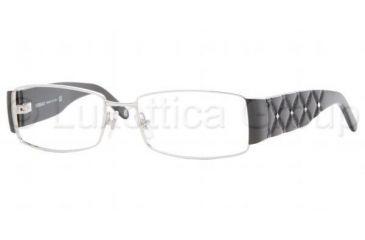 58b4c1c6a61fb Versace VE1153B SV Prescription Eyeglasses - Silver Frame   51 mm  Prescription Lenses