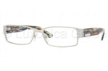 Versace VE 1158 Eyeglasses Styles - Silver Frame w/Non-Rx 52 mm Diameter Lenses, 1000-5216