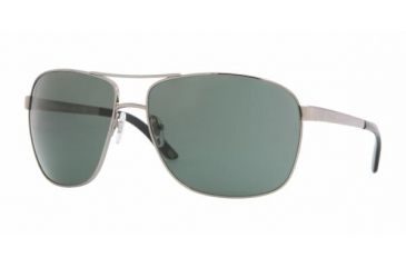 Versace VE2112 Single Vision Prescription Sunglasses VE2112-100371-6315 - Lens Diameter 63 mm, Frame Color Chrome