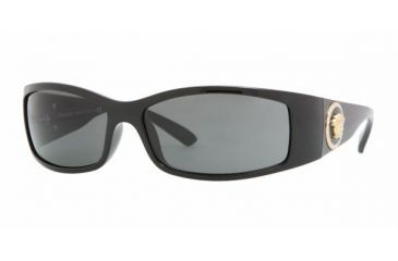 Versace VE 4205B Sunglasses Styles - Black Gray Frame, GB1-87-6115