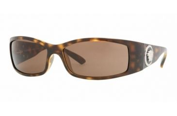 Versace VE 4205B Sunglasses Styles - Havana Brown Frame, 108-73-6115