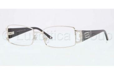 Versace VE1163B Progressive Prescription Eyeglasses 1332-5016 - Silver Frame