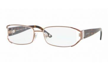 Versace VE1179 #1045 - Brown Frame, Demo Lens Lenses