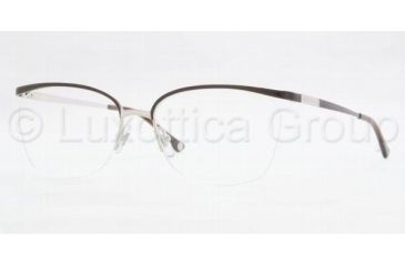 Versace VE1188 Bifocal Prescription Eyeglasses 1287-5216 - Brown/Silver