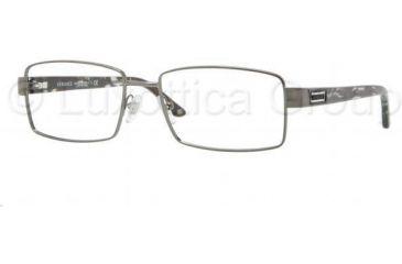 Versace VE1195 Progressive Prescription Eyeglasses 1316-5517 - Anthracite Frame