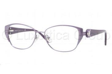 Versace VE1196 Progressive Prescription Eyeglasses 1317-5115 - Dark Steel Frame