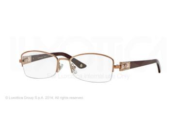 Versace VE1206B Eyeglass Frames 1052-53 - Copper Frame